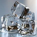 Протирание кубиками льда.