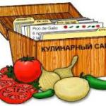 Создание кулинарного сайта.